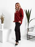 Жіночий весняний спортивний костюм, кофта батник і штани трикотаж розміри: 48. 50. 52. 54. 56, фото 3