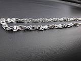 Срібний ланцюжок Рокко-Бароко, 55 см, 42 гр, фото 2