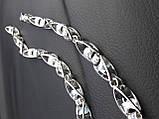 Срібний ланцюжок Рокко-Бароко, 55 см, 42 гр, фото 3