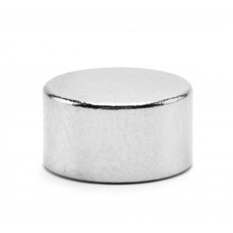 Неодимовый магнит D12 х h6 мм, диск (сила ~ 4.9 кг)