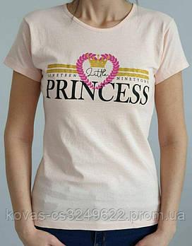 Женская трикотажная футболка , , принт : Сердце