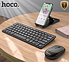 Комплект бездротової Bluetooth Hoco DI05 Black, фото 3