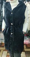 Кардиган-жлетка альпака на гудзиках для дівчат норма розмір 44-48,мікс кольорів