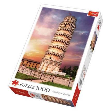 Пазл 1000 Trefl Пізанська вежа (Pisa Tower), фото 2