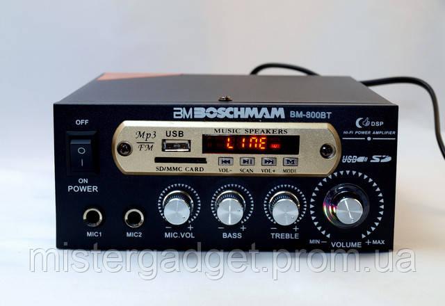 Усилитель низкой частоты BM-800 BT