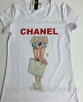 Женская футболка Chanel