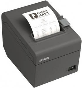 Термопринтер для чеков EPSON TM-T20II Ethernet (Dark Grey)