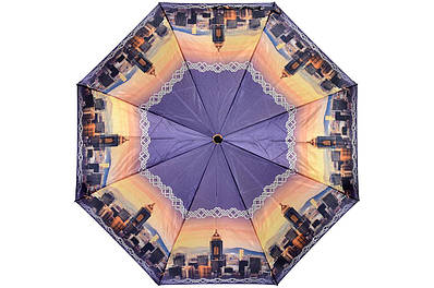 Жіноча парасолька Три Слона ( напівавтомат ) арт. L3882-02