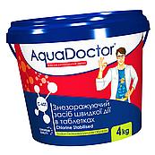 Хлор для бассейна AquaDoctor C-60T 4 кг в таблетках