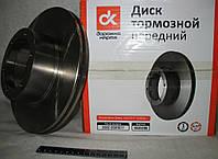 Диск гальмівний ГАЗ 3302 передній d=104мм