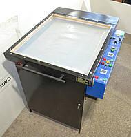 Засветочное устройство 2 в 1 (+ сушка) с вакуумным прижимом и автомат. нагревом