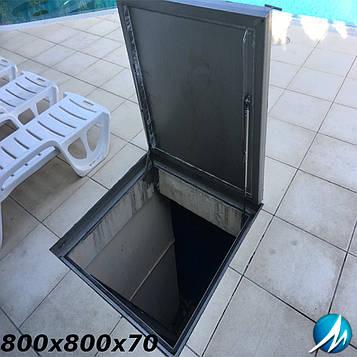 Люк Access Cover UNIFACE ASSIST 800х800x70мм н/ж