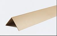 Декоративні кути ПВХ кольорові LinePlast 10x10 LUA001