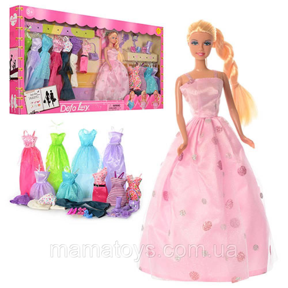 Кукла Дефа с нарядами Defa 8193