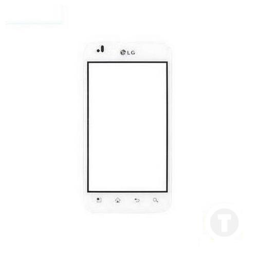 Тачскрин (Сенсор) для LG P970 белый