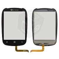 Touchscreen (сенсорный экран) для ZTE N720, черный, оригинал