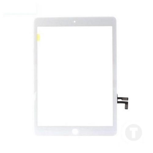 Тачскрин (Сенсор) для iPad 9.7 (2017) (A1822/ A1823) белый (с кнопкой HOME)