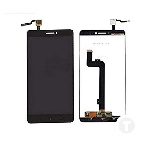 Дисплей (экран) для Xiaomi Mi Max/ Mi Max Pro/ Mi Max Prime с сенсором/ тачскрином (Модуль) черный