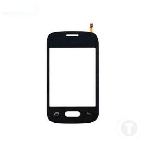 Тачскрин (Сенсор) для Samsung G110/ G110B/ G110F/ G110M Galaxy Pocket 2 Duos черный оригинал