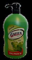 Мыло жидкое для рук Gallus Яблуко 1 литр