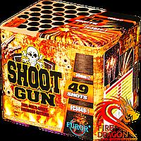 Салютна установка Shoot Gun FC3049-1, кількість пострілів: 49, калібр: 30 мм