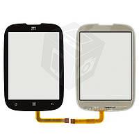 Touchscreen (сенсорный экран) для ZTE X920, оригинал (черный)