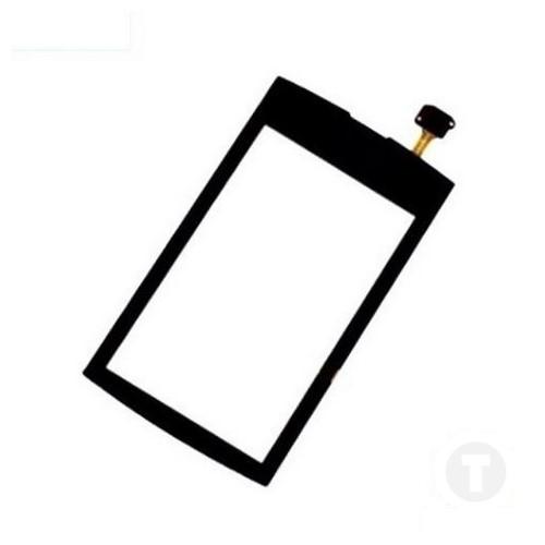Тачскрин (Сенсор) для Nokia 305/ 306 Asha черный