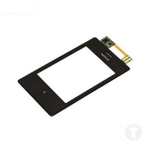 Тачскрин (Сенсор) для Nokia 503 Asha черный