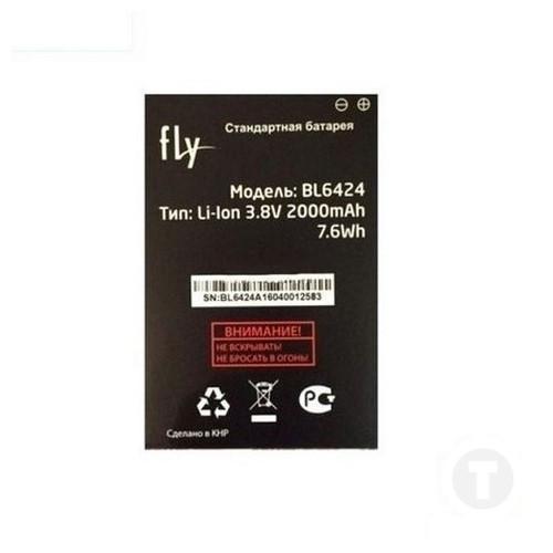 Аккумулятор оригинал (батарея) для Fly BL6424 FS505