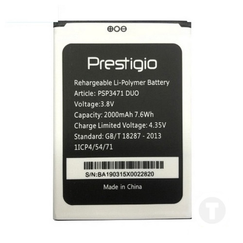 Акумулятор оригінал (батарея) для Prestigio 3471