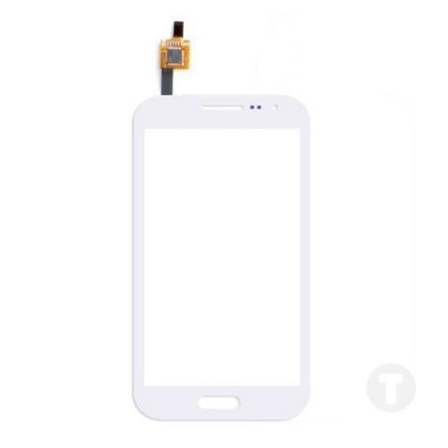 Тачскрін (Сенсор) Samsung i8160 Galaxy Ace II білий