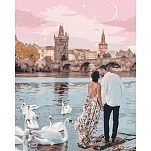 """Картина по номерам Идейка """"Прогулка по Праге"""" 40х50см KHO4652"""