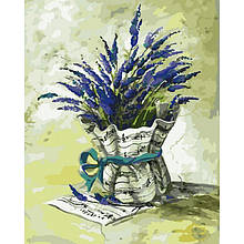 Картина по номерам Идейка Мелодия прованса 40х50 см