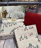 Постільна Білизна з Фланелі Байка Полуторна 160*220 см Туреччина Cotton Сollection, фото 2