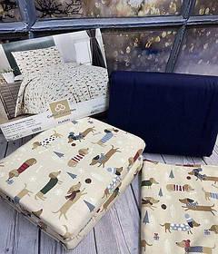 Постельное Белье из Фланели Байка Полуторное 160*220 см Турция Cotton Сollection