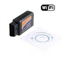 ELM327 адаптер для диагностики Wi-Fi OBD2 вайфай Android iPhone iPad iPod сканер неисправностей удаление ошибо