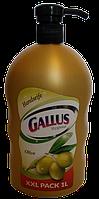 Жидкое мыло с дозатором Gallus Olive 1 литр Германия