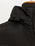 """Жіноча тепла куртка-парка """"Теннессі"""", чорна, фото 7"""