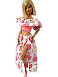 Одяг для ляльок Барбі - топ і спідниця*, фото 2