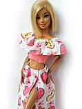 Одяг для ляльок Барбі - топ і спідниця*, фото 4