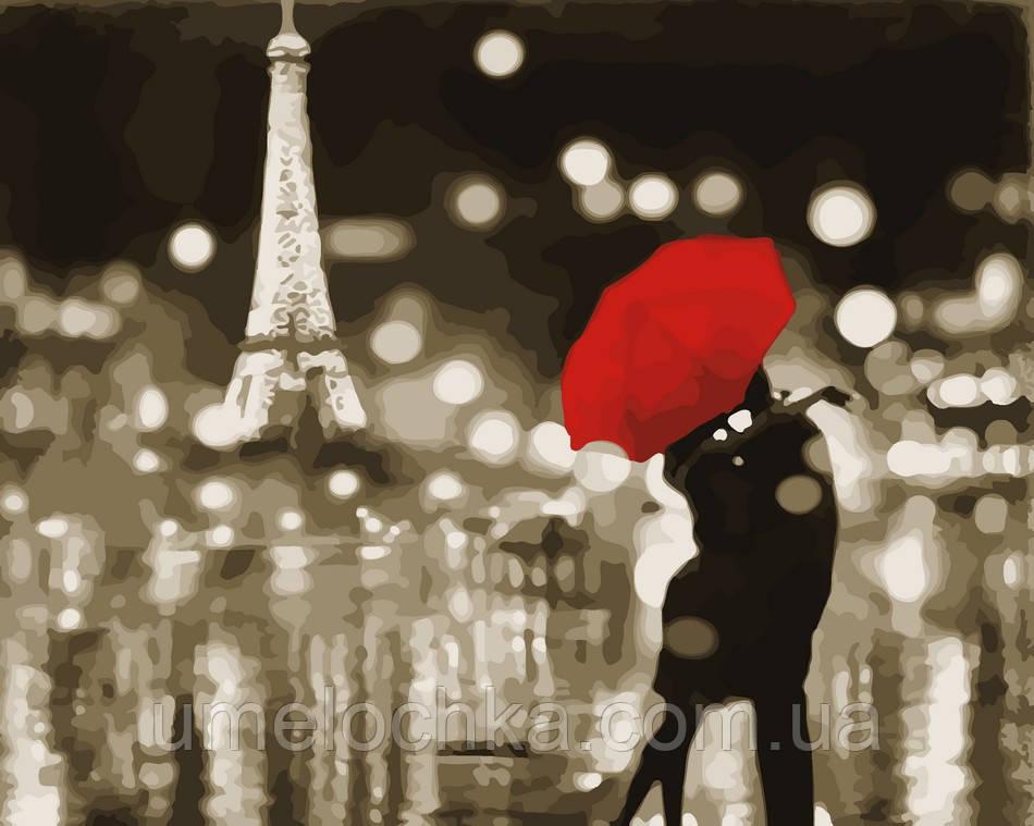 Рисунок по цифрам Романтичный Париж (AS0047) 40 х 50 см ArtStory