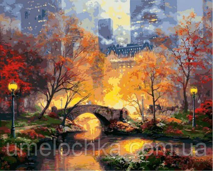 Картина за номерами Магія вечірнього парку (VP872) 40 х 50 см
