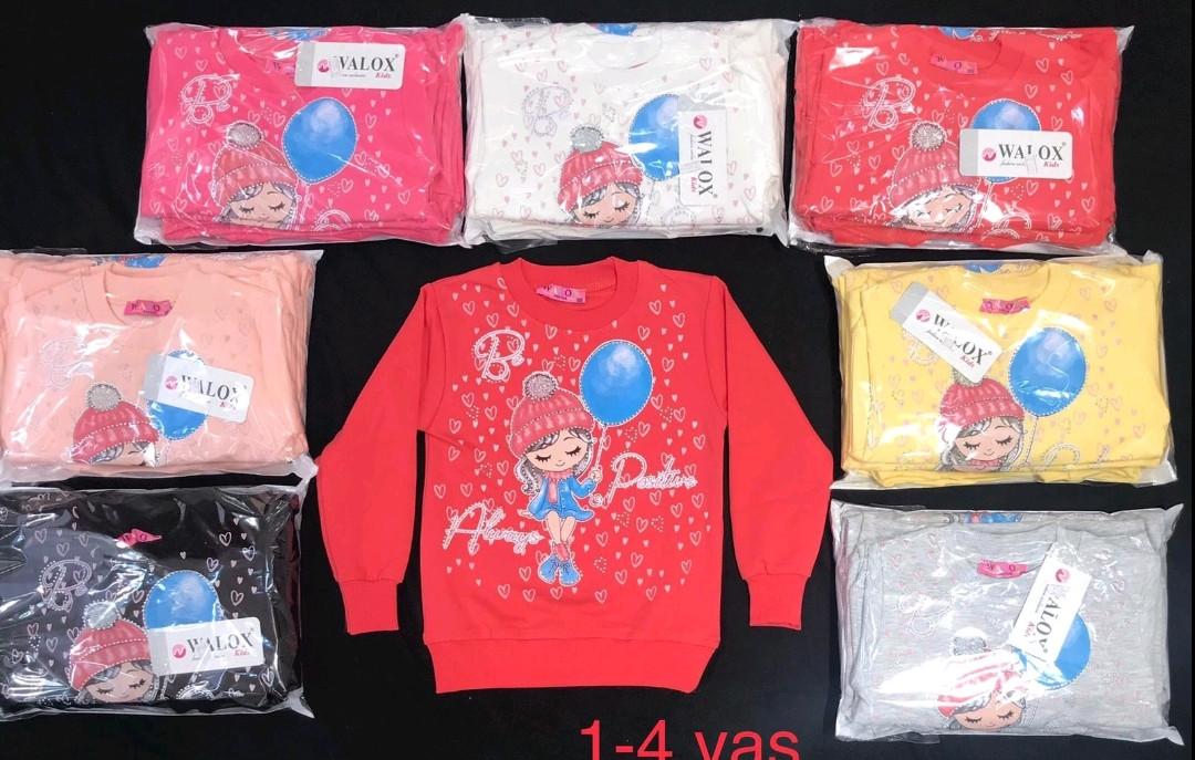 Батнік для дівчат на флісі Туреччина Р. р 1-4 років
