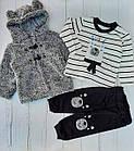 Костюм теплий для малюків Туреччина Р. р 9-24 місяця, фото 3