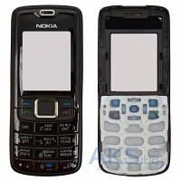 Корпус Nokia 3110c, с клавиатурой, задняя и передняя панель Black
