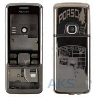 Корпус Nokia 6300 с орнаментом Grey