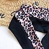 Купальник з рукавом і змійкою леопард, фото 4
