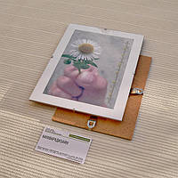 Антирама 105х150мм антирамка безбагетная клямерная рама рамка-клип, фото 1