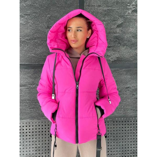 Зимова куртка жіноча коротка