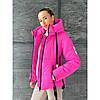 Зимняя куртка женская укороченная, фото 2
